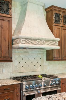 Nice Tile Backsplash Behind Cooktop