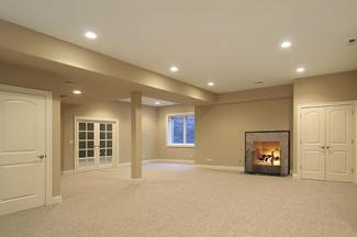 basement drop ceiling. basement multi level ceiling Basement Ceiling Ideas  LoveToKnow
