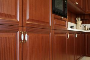 Decorative cabinet hardware