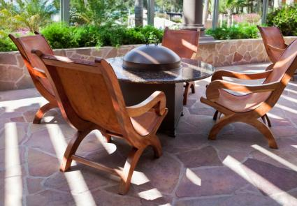 Delightful Chairs Around Fire Pit