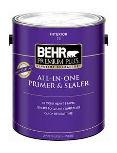 Behr Premium Plus Primer and Sealer