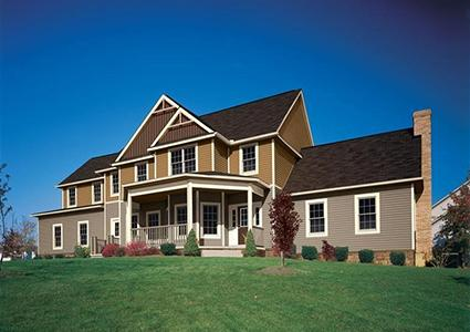 Vinyl siding styles lovetoknow for House siding styles