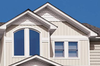 Vinyl siding styles lovetoknow for 12 inch board and batten vinyl siding