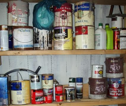 Safe disposal for paint waste for How to dispose of empty paint cans