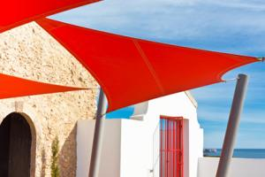 Fabric Sail Shade Canopy
