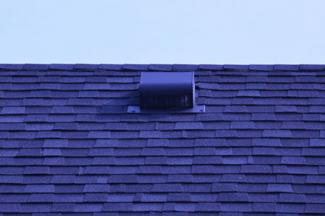 Square roof vent
