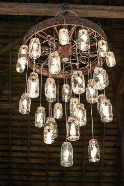 188194 250x374 mason jar chandelier make your own chandelier lovetoknow Connecting a Wire Chandelier at nearapp.co
