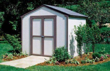 Backyard Buildings 8x8 Seneca storage