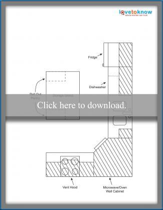 Kitchen Layout Idea 5 - Corner design