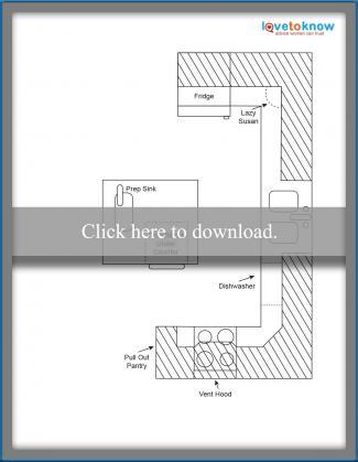 Kitchen Layout Idea 7 - Busy family kitchen design