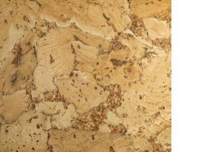 detailed cork tile