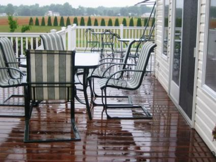 Protect a Deck With Deck Stain