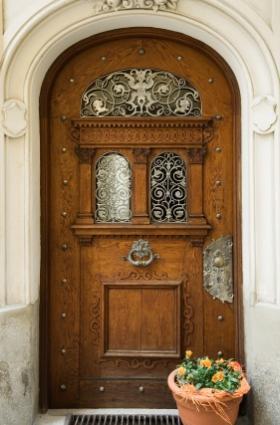 Fancy front entry doors lovetoknow for Fancy front doors