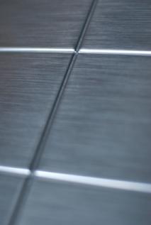 Metal wall tile