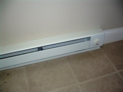 Cover Electric Heater Wall