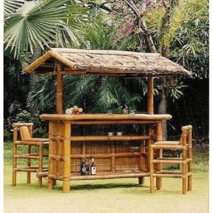 Build A Tiki Bar Free Plans