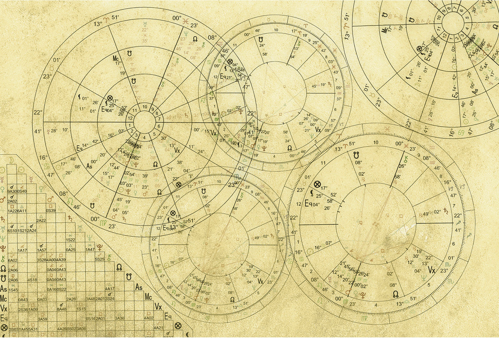 List of Synonyms and Antonyms of the Word: natal chart compatibility