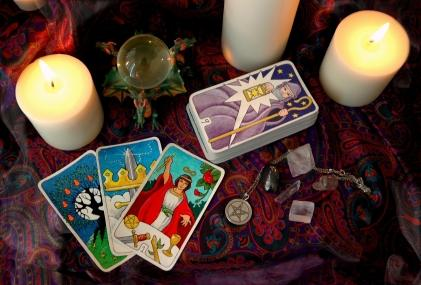 Deck of tarot cards