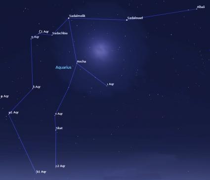 Aquarius Star Constellation The Is