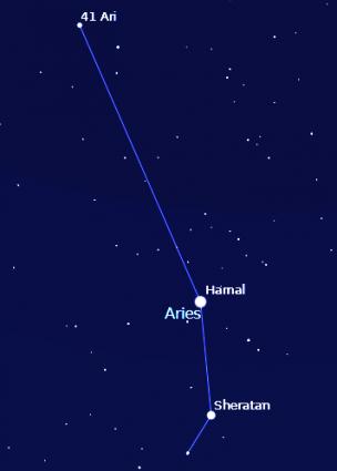 aries constellation within nebula - photo #22