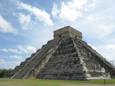 This temple is actually a Mayan calendar.
