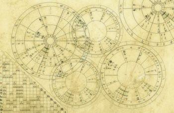 An example of a natal chart.