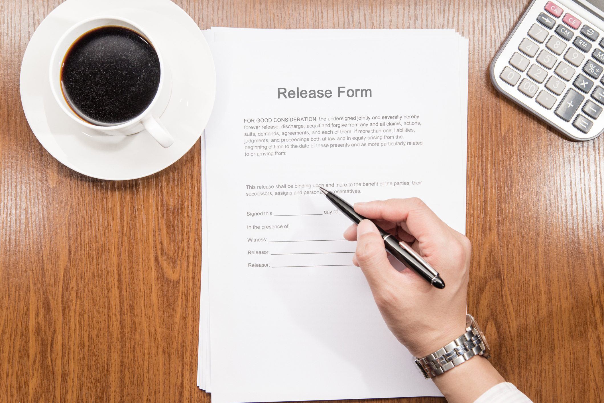 Free Liability Release Forms – Free Liability Release Forms Printable Online