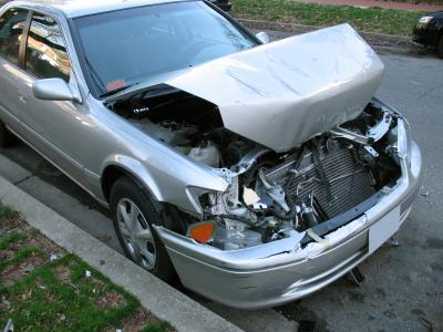Car After Collision