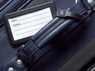 Luggage tag and luggage