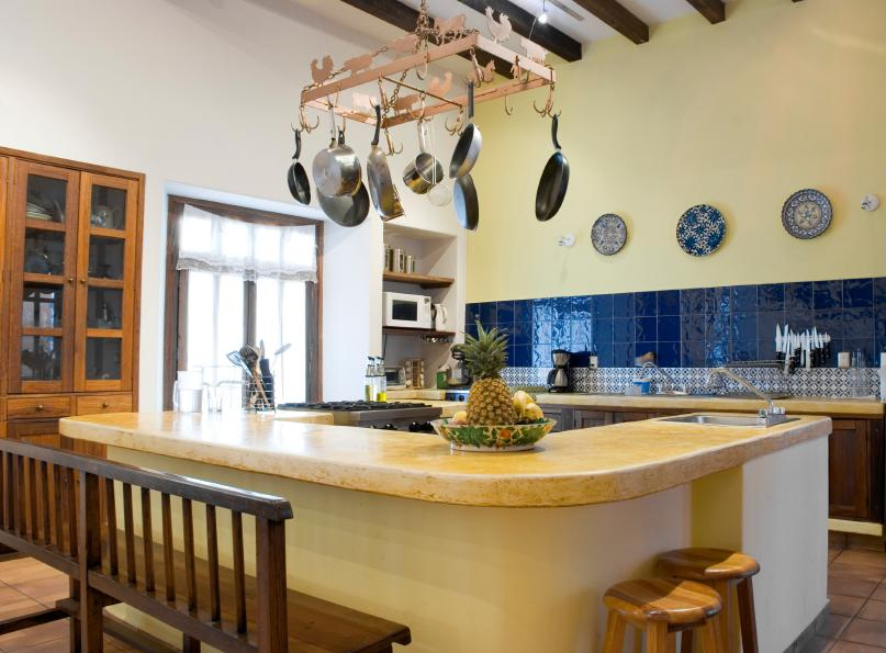 Modern Colonial Kitchen