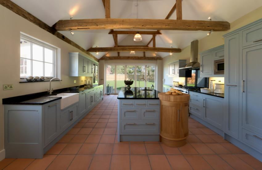 Best kitchen colors gallery slideshow for Terracotta kitchen ideas