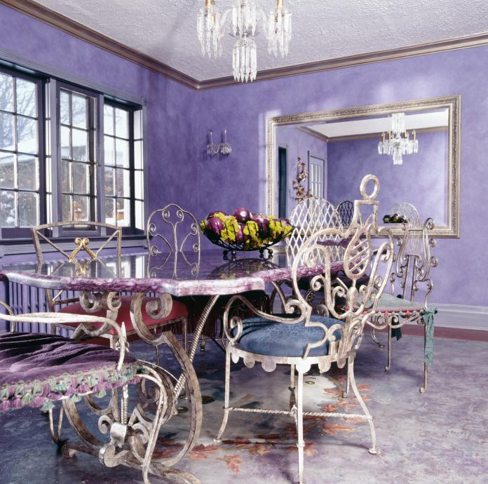 Eclectic style interior design slideshow for Eclectic dining room designs