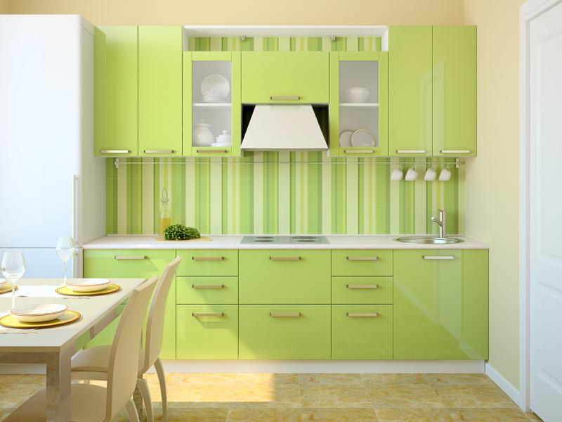 Best kitchen colors gallery slideshow for Lime green kitchenware