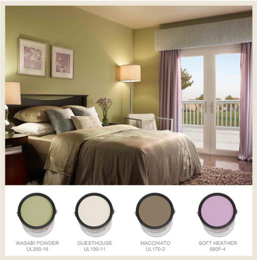Bedroom design photos slideshow for Bedroom ideas olive green