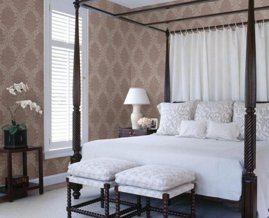 Romantic bedroom design ideas slideshow - Mauve bedroom decorating ideas ...