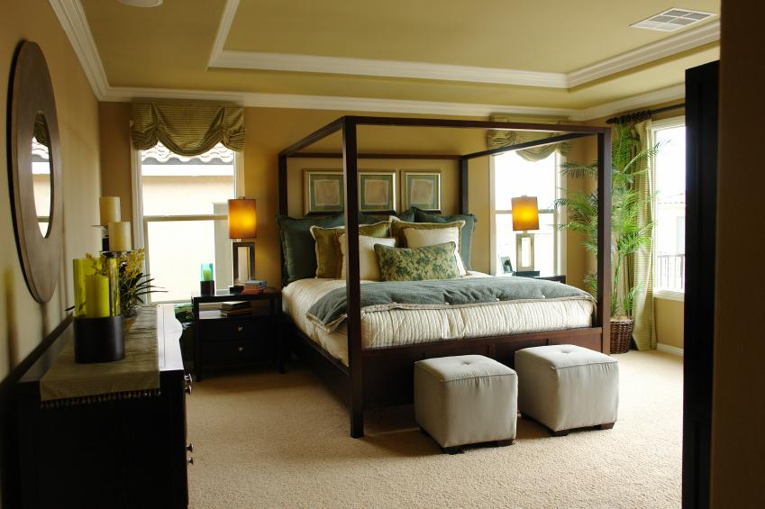 Contemporary bedroom. Pictures of Master Bedroom and Bathroom Designs  Slideshow