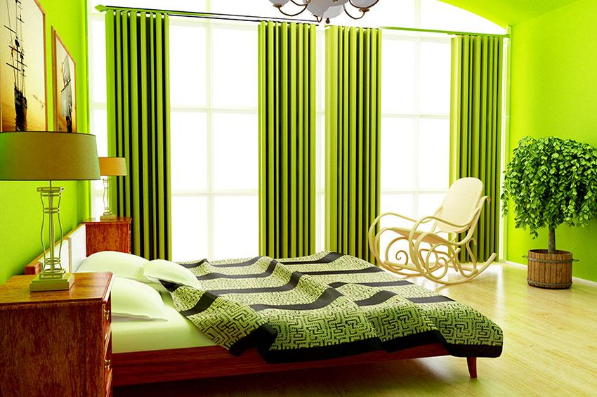 Pictures of bright wall colors slideshow for Bright green bedroom ideas