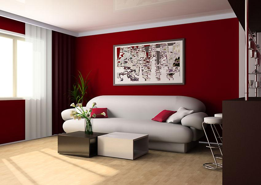 apartment living room. Color contrast used for dramatic effect in room Apartment Living Room Ideas  LoveToKnow