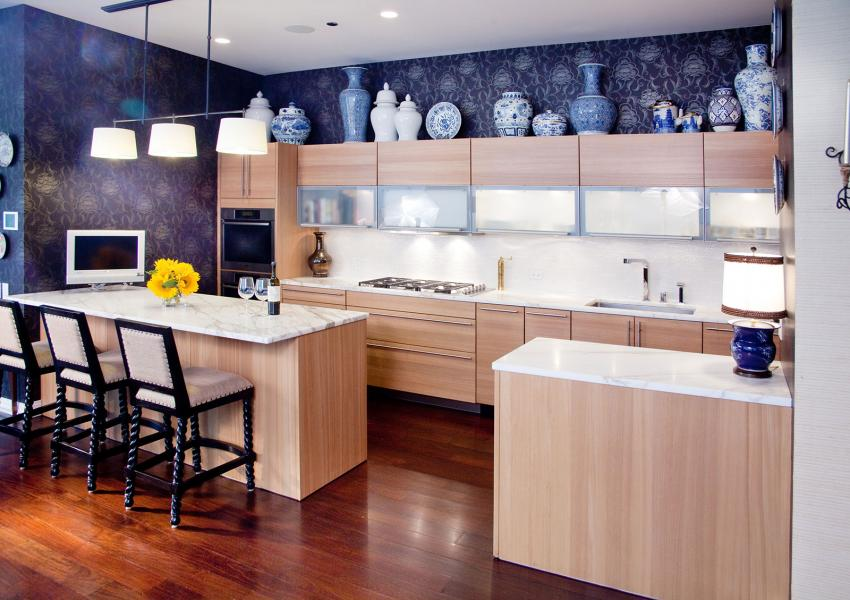 Ideas For Decorating Above Kitchen Cabinets Slideshow