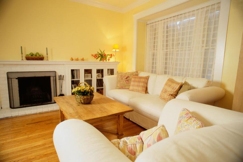Primrose Yellow And Cream Living Room Part 58