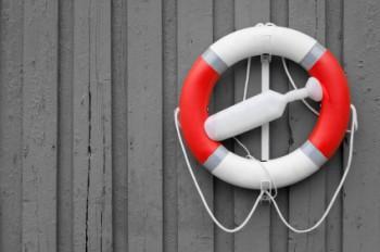 Life saver float