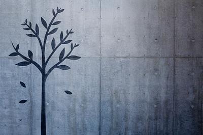 tree wall stencil