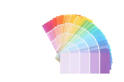 paint chip sample colors