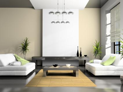 Contemporary style interior design lovetoknow for Modern zen interior design living room