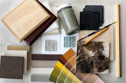 interior design samples and tools