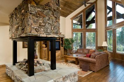 Rustic Style Great Room