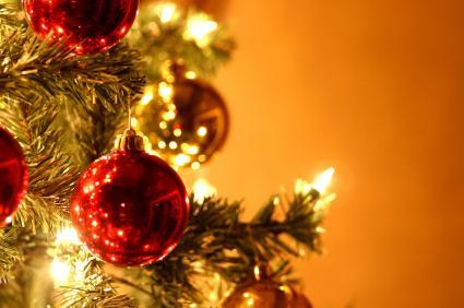 Red xmas ornament