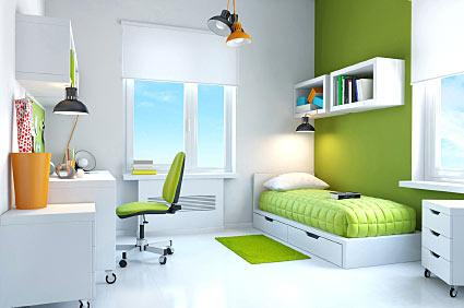 common themes for teenage bedrooms