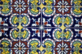 Mexican Design Elements Talavera Tile