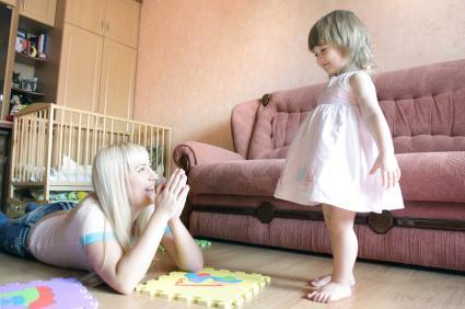 child safe living room